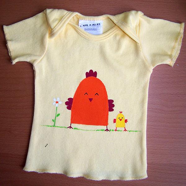 t-shirt poulette