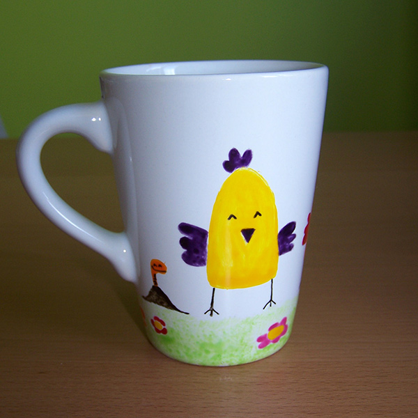 Mug 3 poules