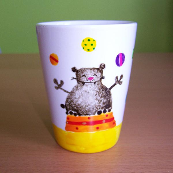 mug ours jongleur