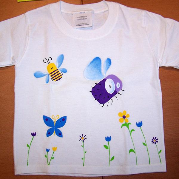 T-shirt bucolique