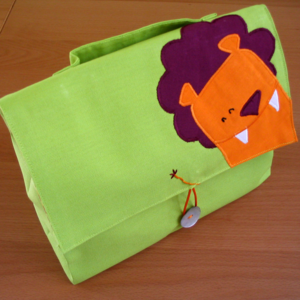 trousse de toilette lion