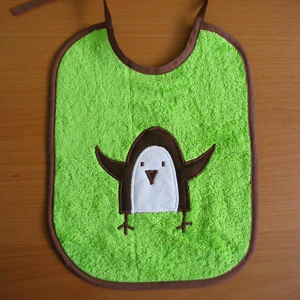 Bavoir Pingouin