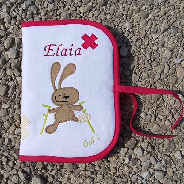 Protège Carnet de santé lapin