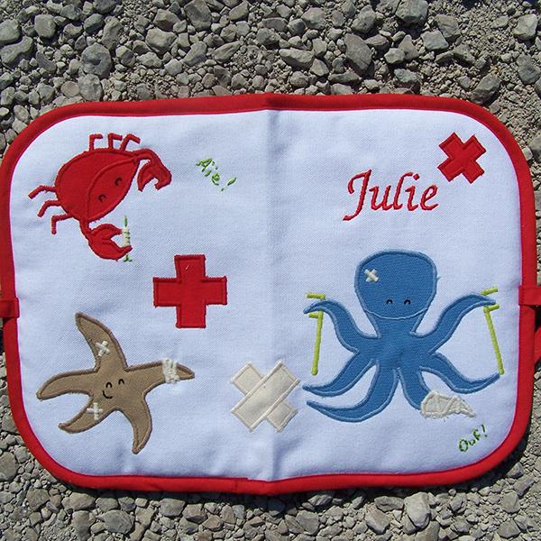 protège-carnet de santé mer