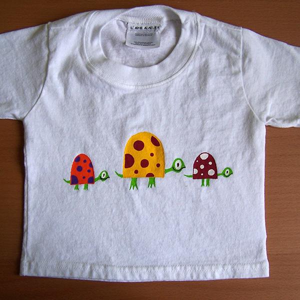 t-shirt enfant 3 tortues